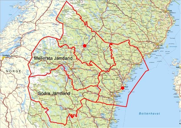 karta härnösand Ny_distriktsindelning,SV1KM Karta   STIFTSFÖRENING Härnösand karta härnösand