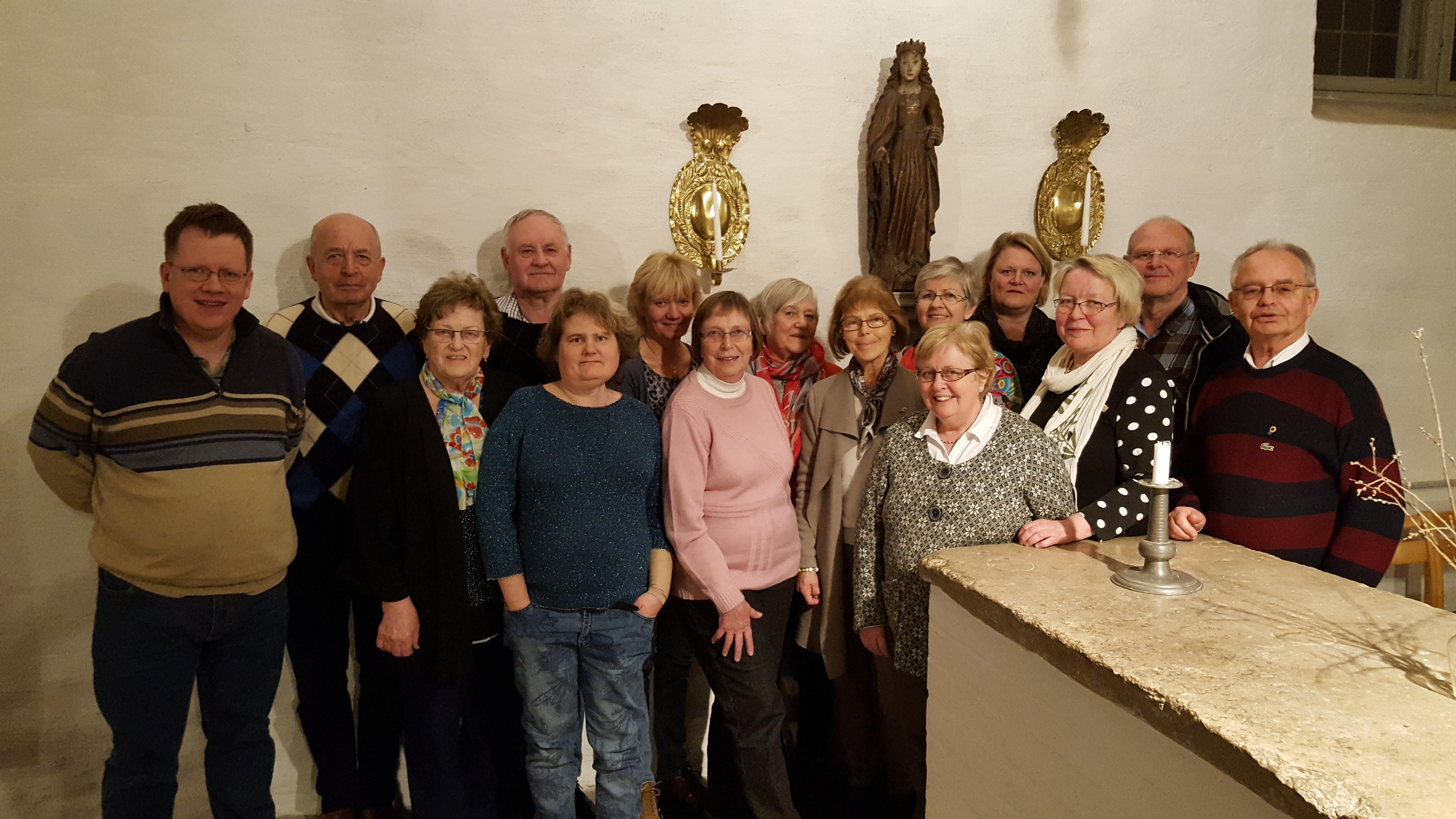 Några av de som kandiderar för POSK i kyrkovalet i Söderköping S:t Anna församling.