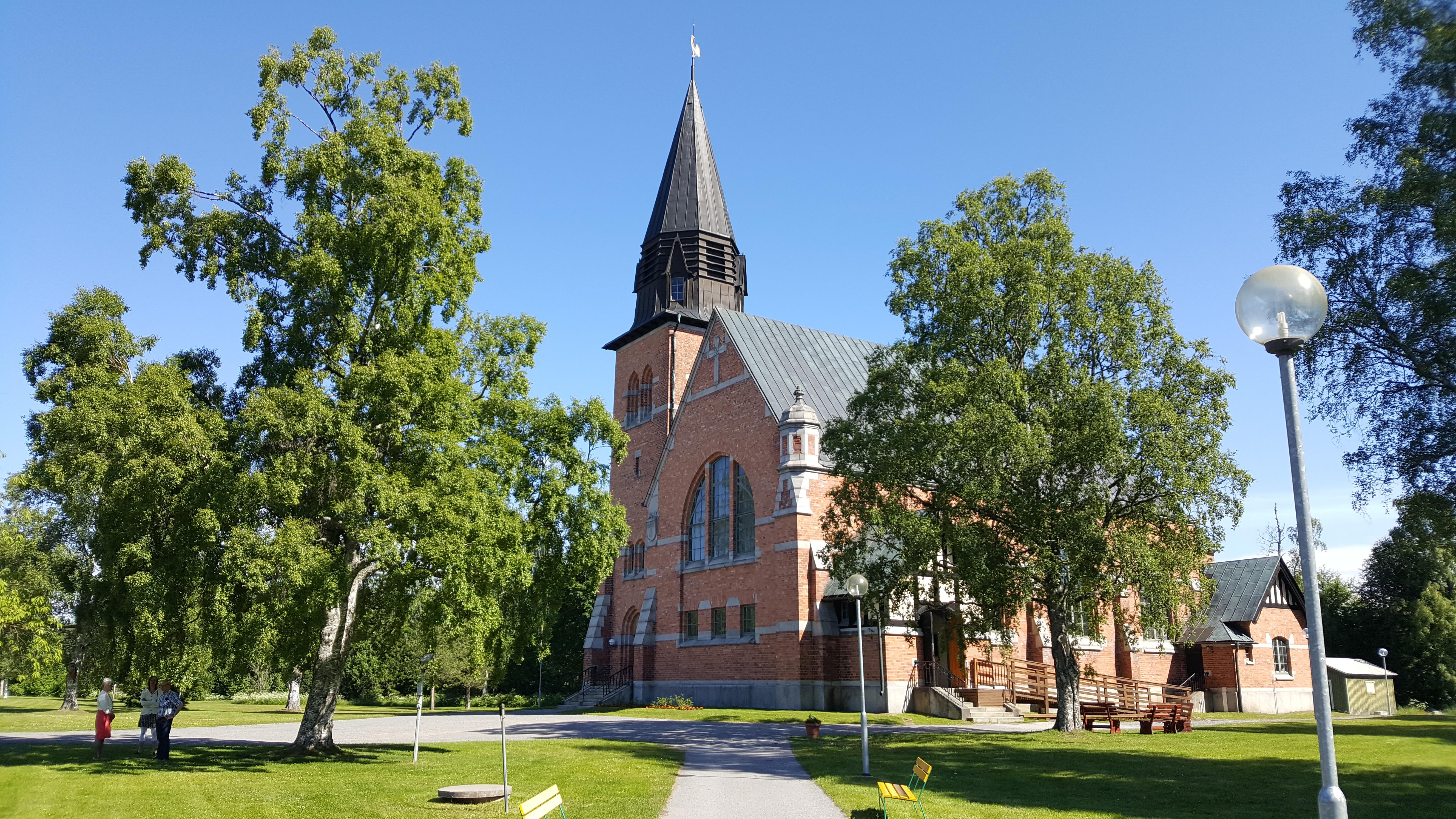 Rosornas kyrka, Hörnefors