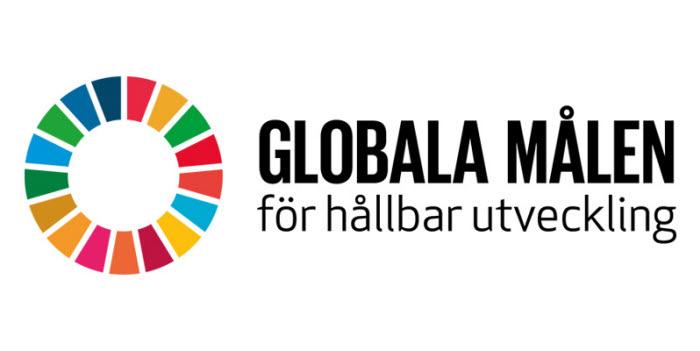 logotype för Globala målen för hållbar utveckling