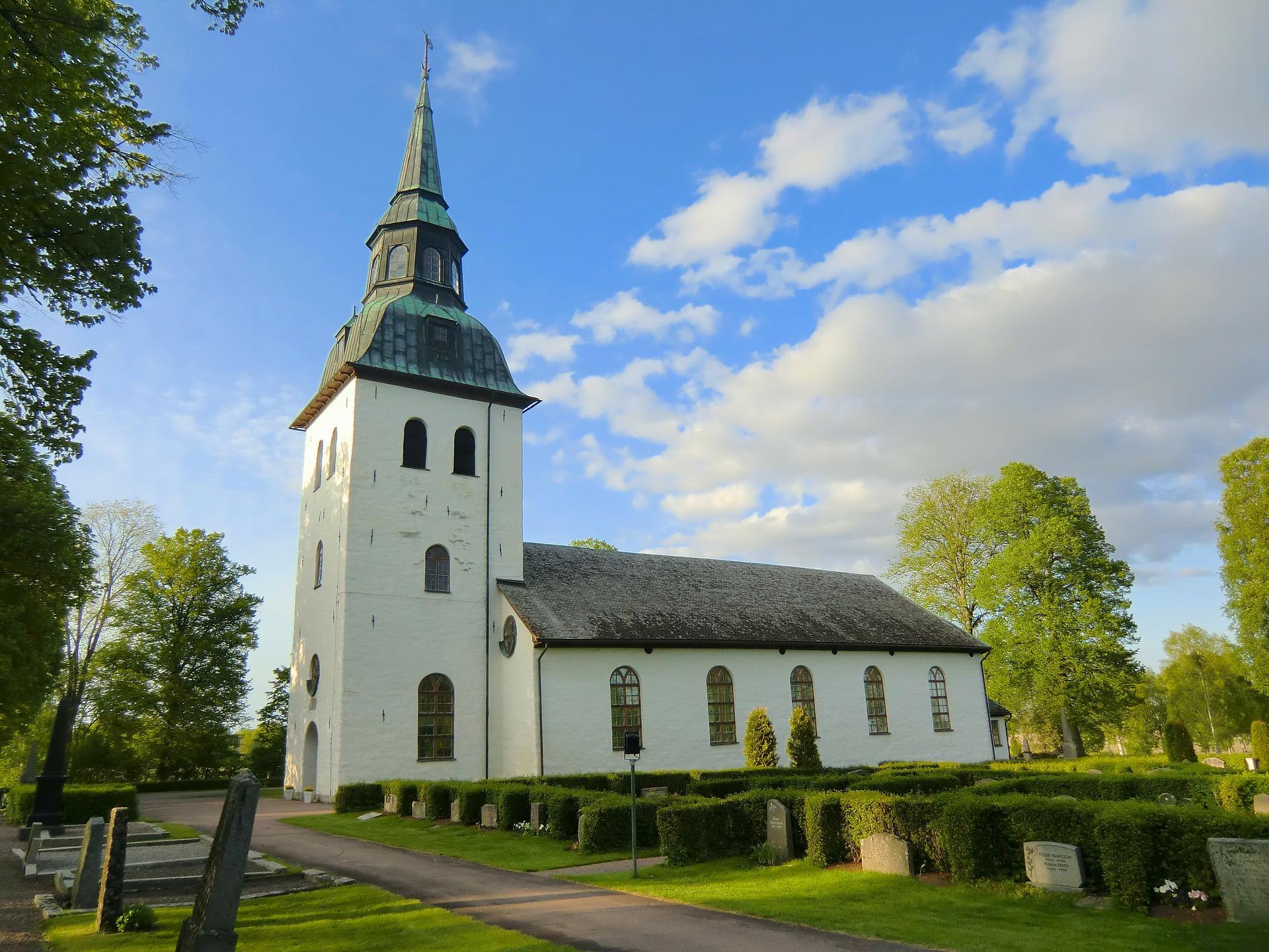 Kyrkogård i Värmland